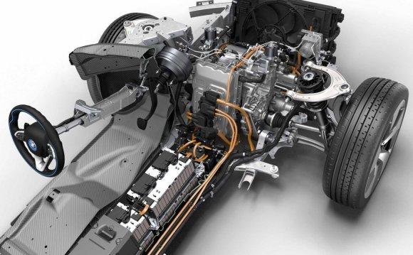 Гибридный двигатель БМВ